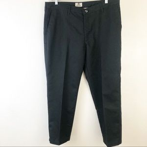 Lee Total Freedom Relaxed Fit  Black Pants 40x29
